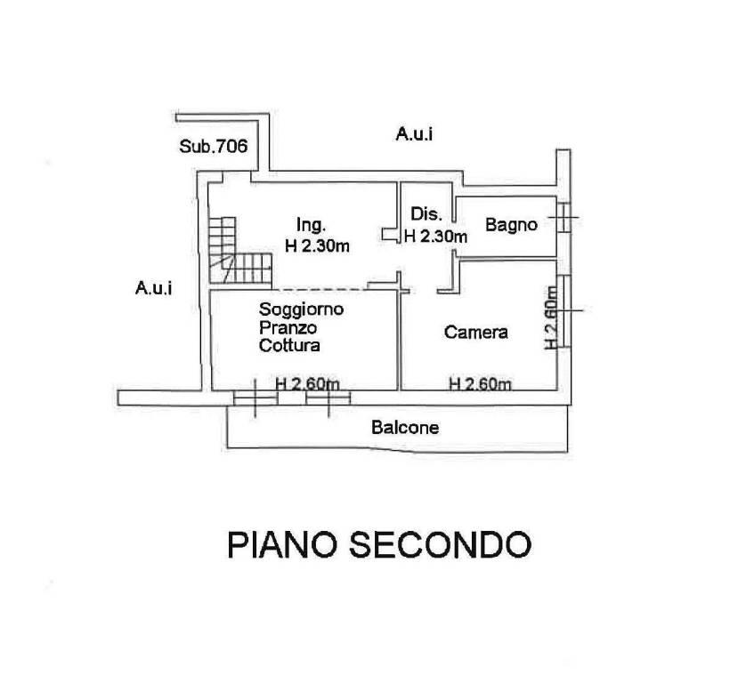 foto scheda catastale 3-room flat via Lecco 37, Mozzo