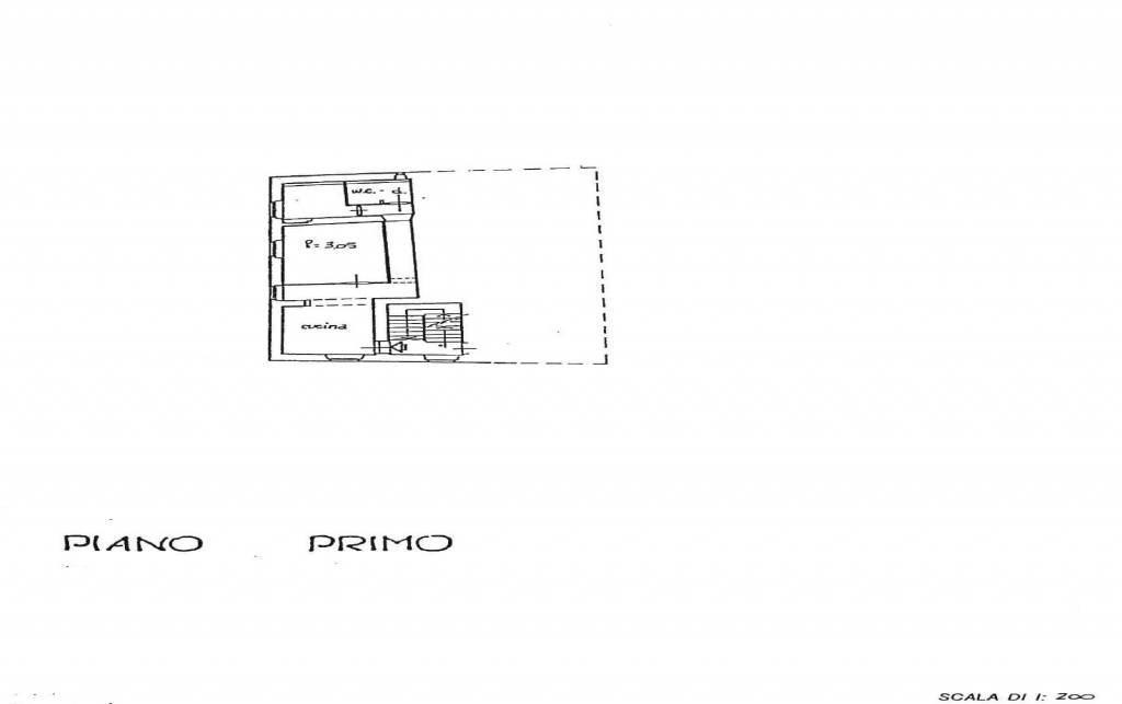foto planimetria 3-room flat via Piave, Pontassieve