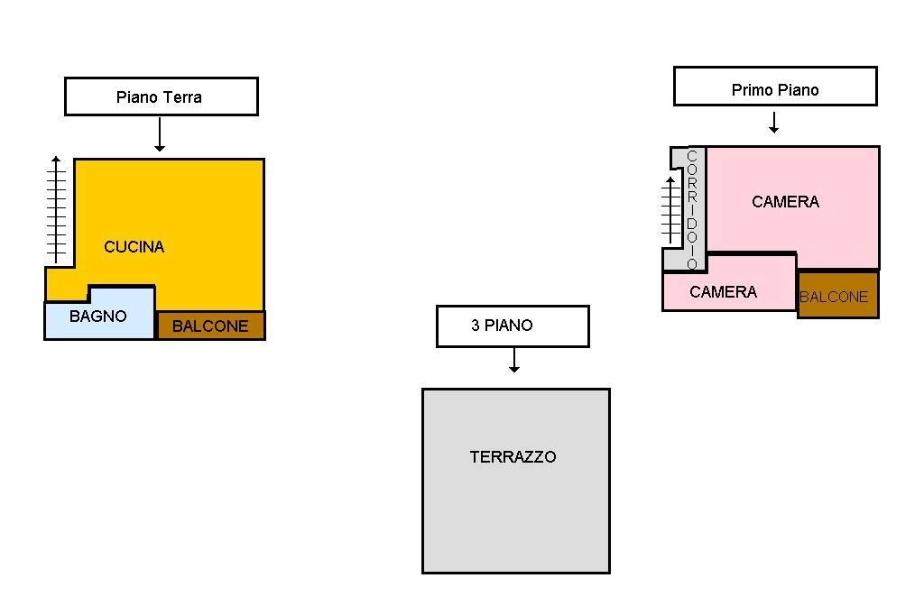foto piantina Bilocale via De Filippo, 22, Massa di Somma