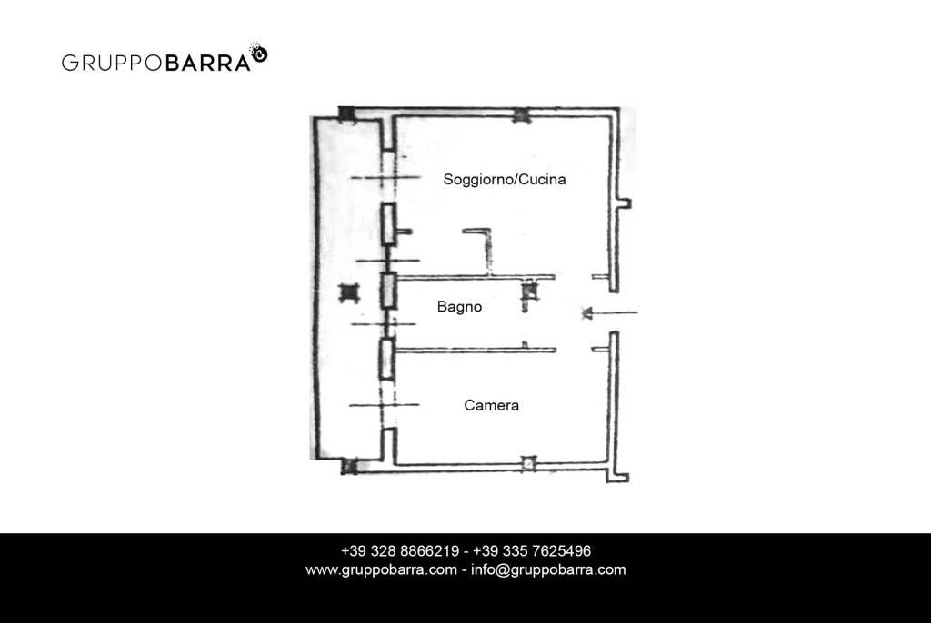 foto Planimetria 2-room flat via Vermenagna 11, Limone Piemonte