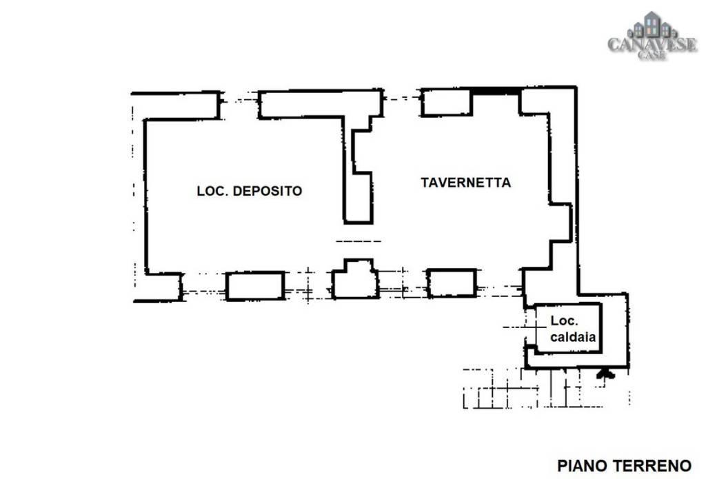foto planimetria Detached house via Domenico Mussatti 4, Rivara