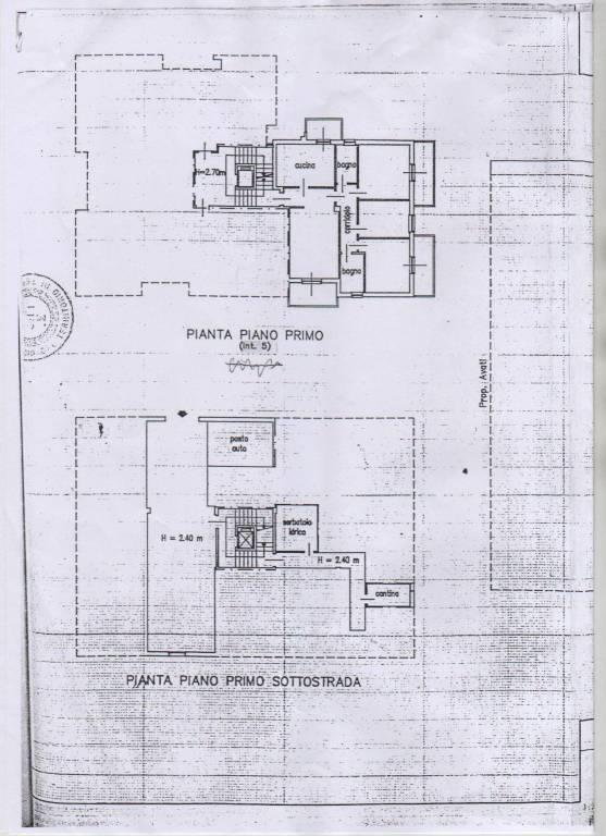 foto planimetria Appartamento via Guglielmo Marconi 57, Mosciano Sant'Angelo