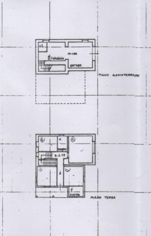 foto planimetria Single family villa Molviano, Campli