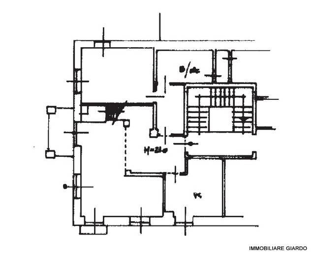 foto PLANIMETRIA APPARTAMENTO 3-room flat excellent condition, first floor, Castelnuovo Don Bosco