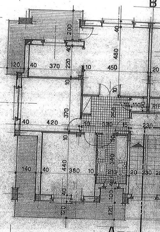 foto pianta 4-room flat via A  Chiappè 36, Nole