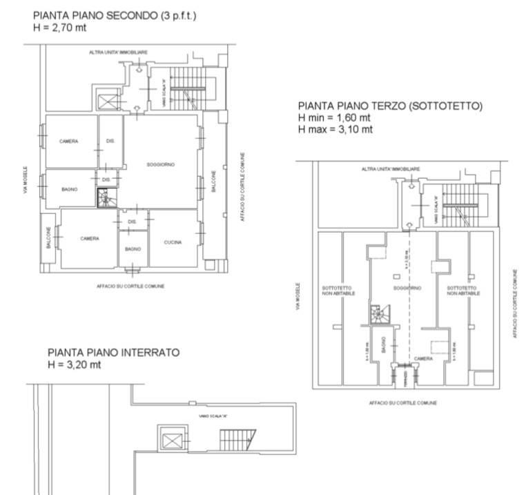 foto planimetria Apartment via Gilberto Mosele 29, Venaria Reale