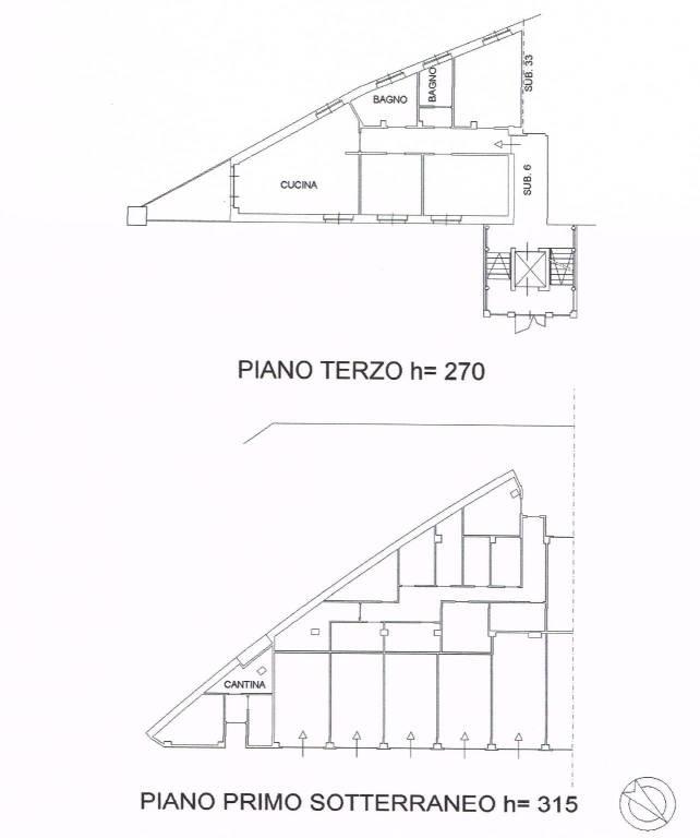 foto planimetria 4-room flat viale Masera 1, Alba