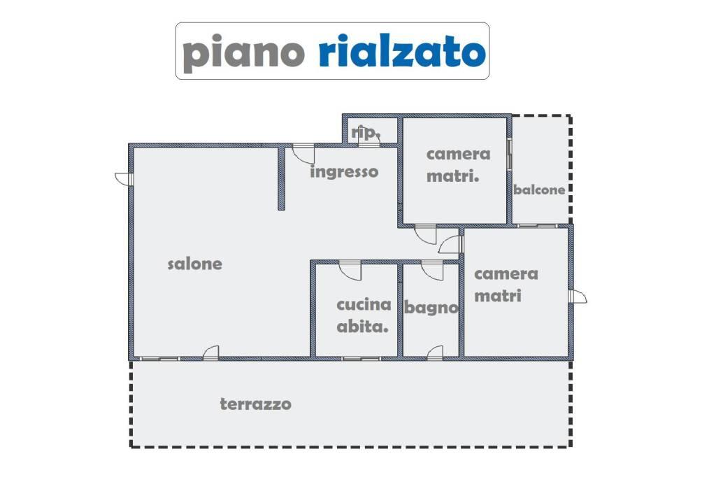 foto PLANIMETRIA Apartamento T3 via Stefano Assemani, Roma