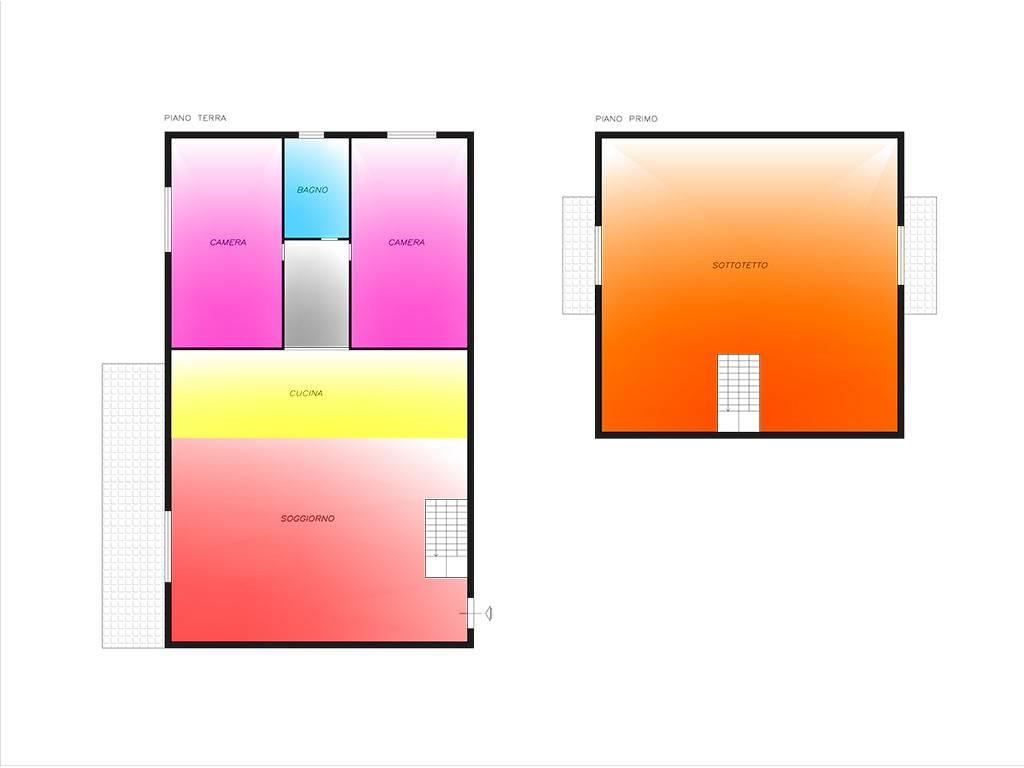 foto Planimetria 3-room flat via A  Valè, Noviglio