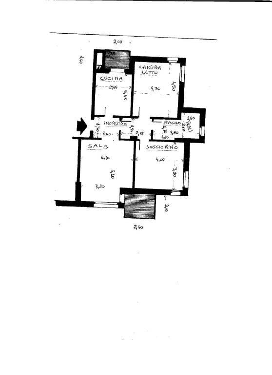 foto  3-room flat via Martiri di Cefalonia 35, San Donato Milanese