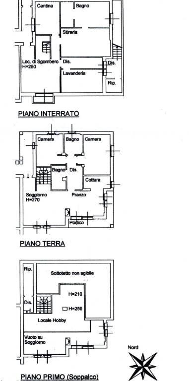 foto planimetria Appartamento via delle Ginestre, Appiano Gentile