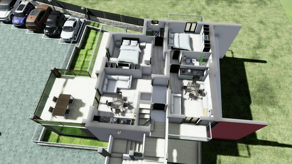 foto planimetria 2-room flat via delle Cisternole, Frascati