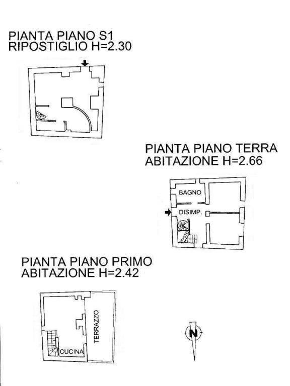 foto Planimetria.jpg Detached house via Roma, Castellaro