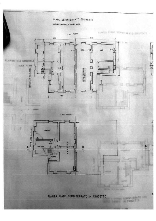foto Planimetria Villa unifamiliare via Anton Giulio Barrili 17, Torino