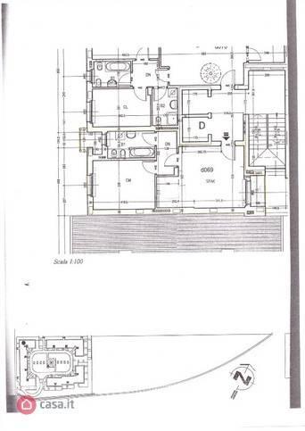 foto  3-room flat via Massimo Gorki 45, San Giuliano Milanese