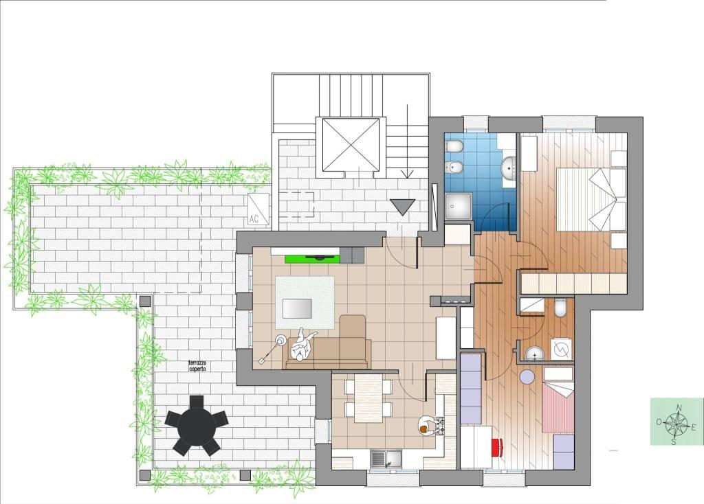 foto  Penthouse via Giacomo Matteotti, Sedriano