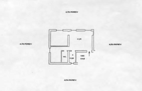 foto Planimetria Appartamento via Romana, Camogli