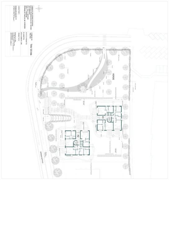 foto Planimetria generale Penthouse via Giuseppe Maffioli, Treviso