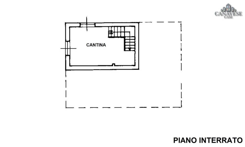 foto piano interrato Detached house Strada Provinciale di Agliè, Agliè