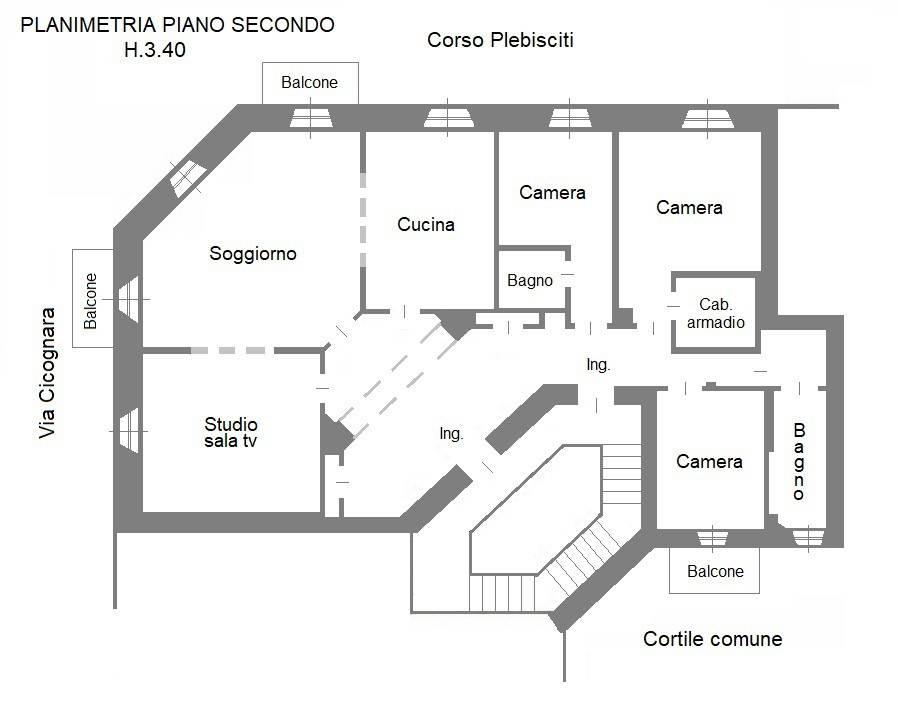 foto  Appartamento corso Plebisciti, Milano