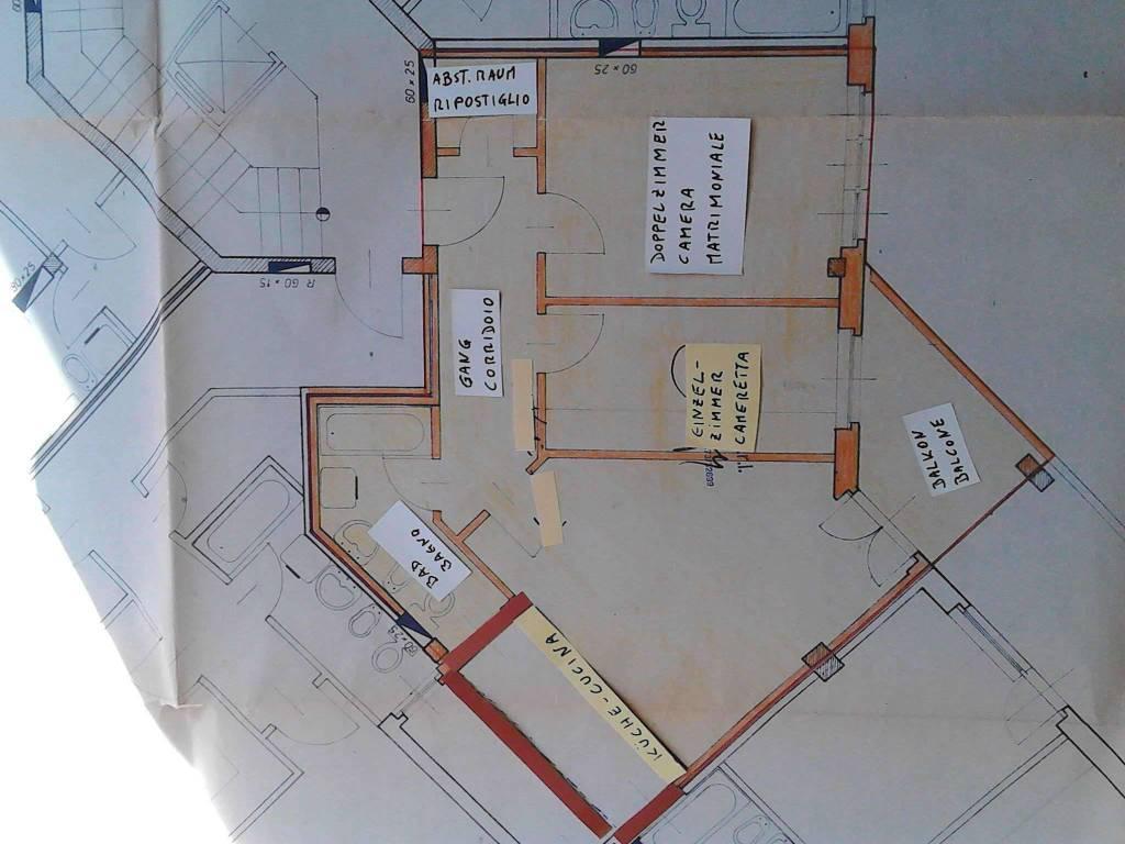 foto  3-room flat via Marlengo 27, Merano