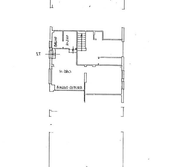 foto Planimetria Bilocale via 25 Aprile 72, Borgio Verezzi