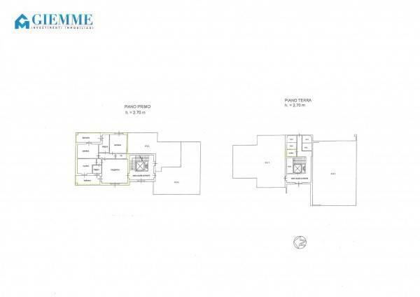 foto planimetria 3-room flat viale Dante Alighieri 17, Galliate