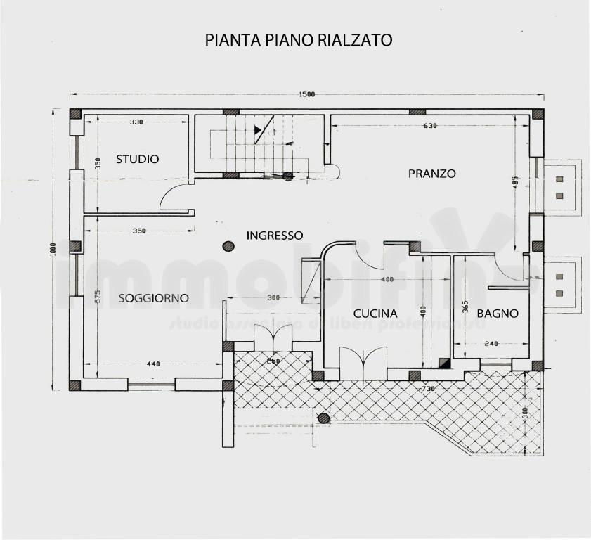foto pianta Villa unifamiliare, nuova, 450 mq, Oria