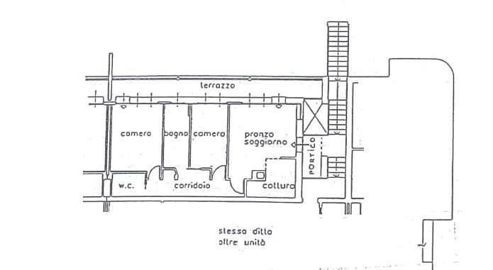 foto piano primo 4-room flat via del Dominicale 29-1, Villorba