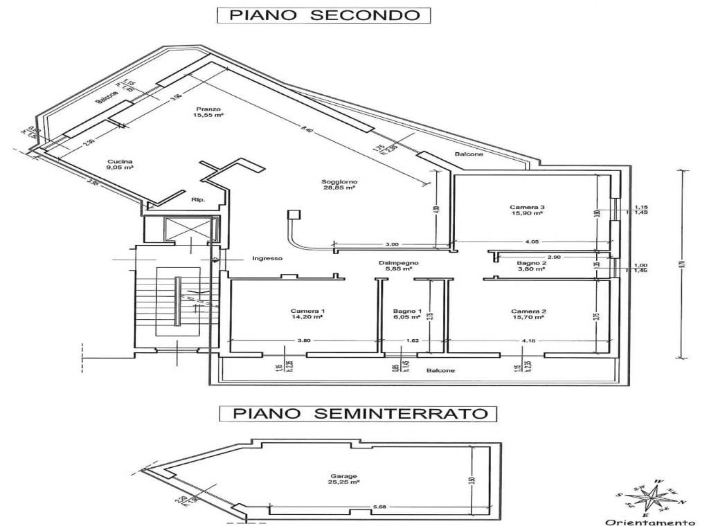foto planimetria Apartment via L  Celli 20, Rufina