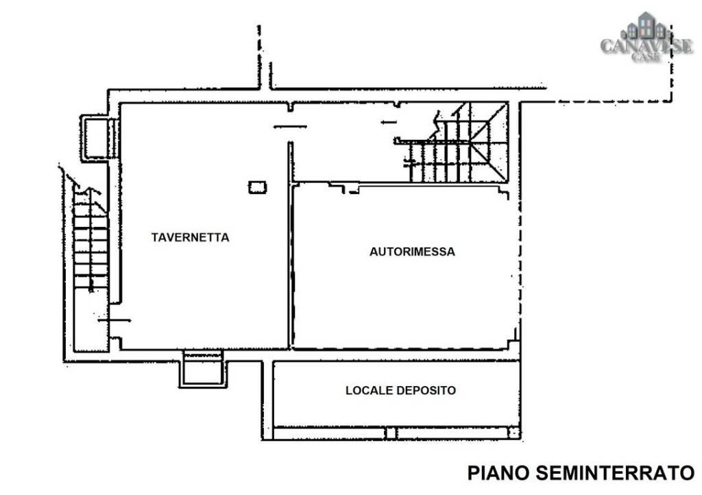 foto piano seminterrato Detached house via Longora 14, Issiglio