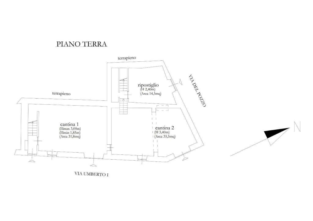 foto  Detached house via Umberto I 5, Montecastello