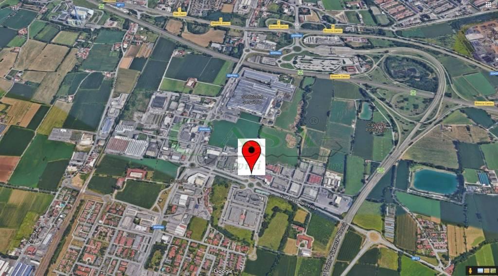 foto Mappa Capannone in Affitto a San Zeno Naviglio