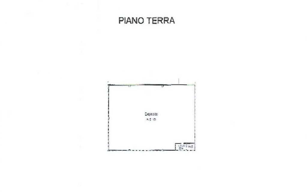 foto PLANIMETRIA Capannone in Affitto