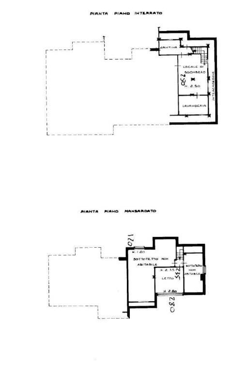 foto planimetria Single family villa via DINO BUFFA, 18-G, Campiglione-Fenile