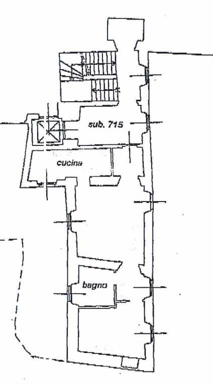 foto scheda catastale 2-room flat via Bettoni, Almenno San Bartolomeo