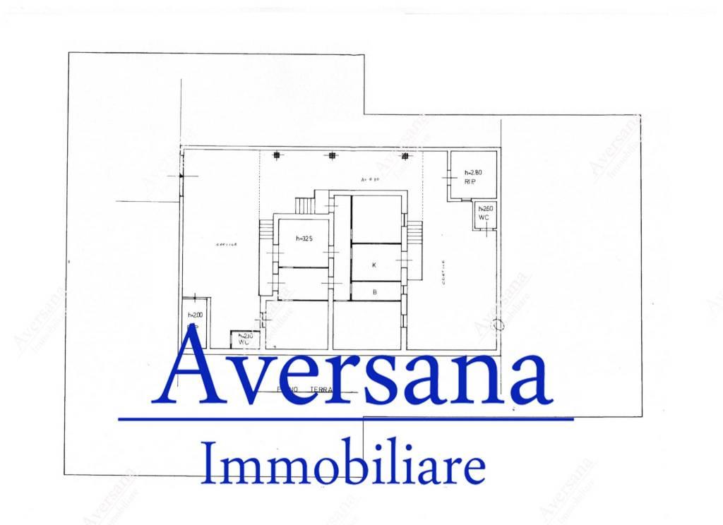 foto Planimetria Single family villa via Vittorio Emanuele 195, Parete