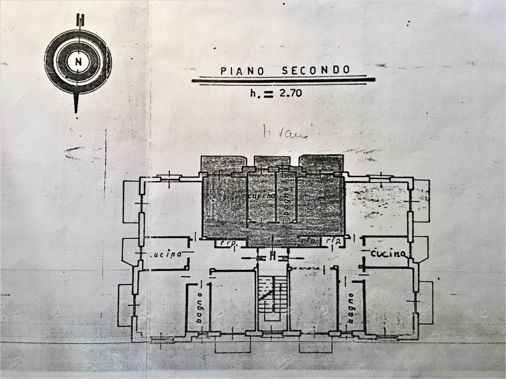 foto Planimetria 3-room flat via Medagli 38, Sant'Antonino di Susa