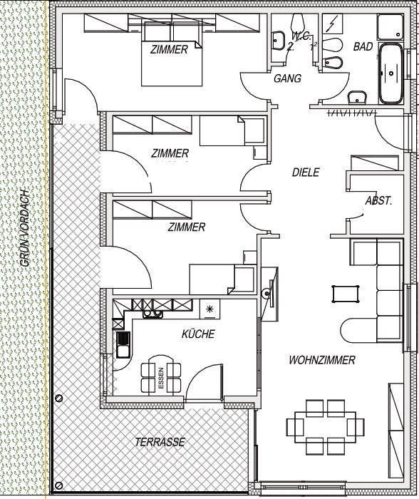 foto  Apartment new, second floor, Chienes
