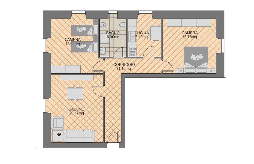 foto  3-room flat viale Vittorio Veneto 15, Frascati