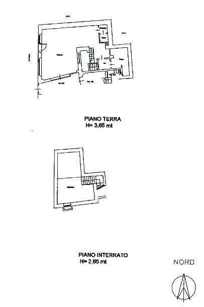 foto planimetria Bar in Vendita