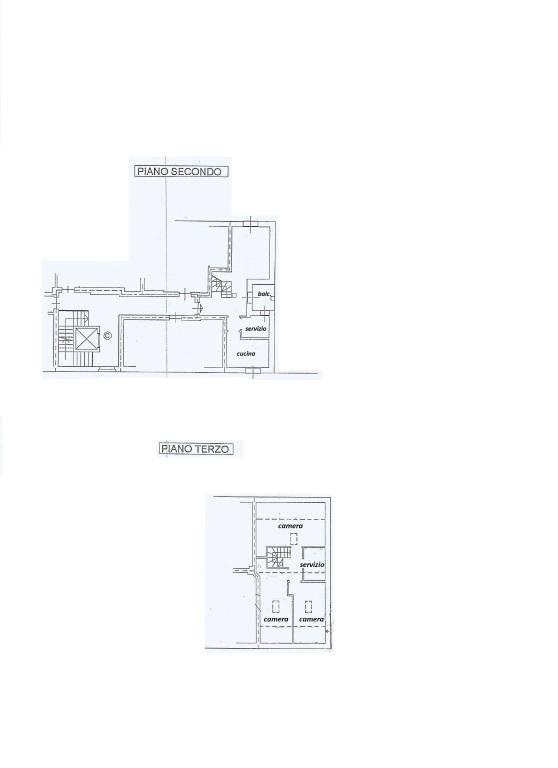 foto planimetria 4-room flat via Caduti di Nassiriya, Vignate