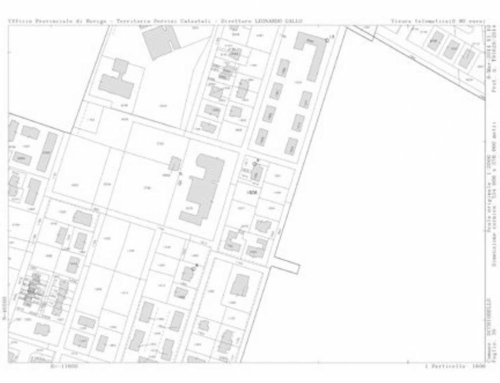 foto plan Bilocale via privata via moggio udinese 0, Roma