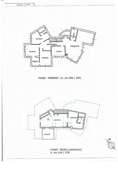 foto piano terreno/primo Single family villa, excellent condition, 485 sq.m., Gassino Torinese
