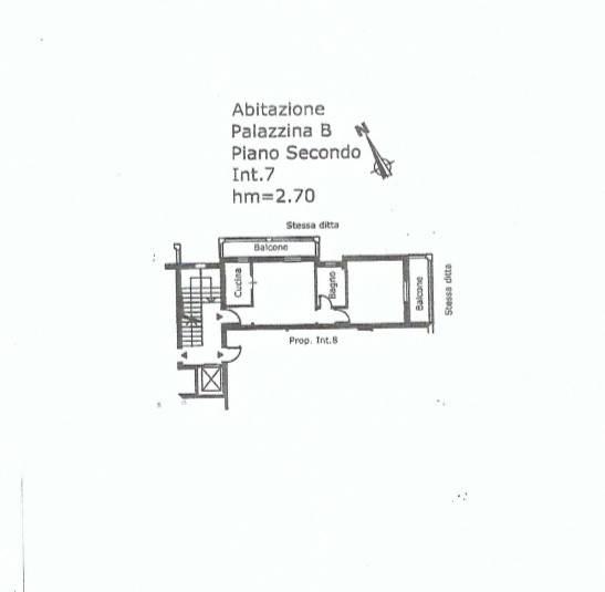 foto Planimetria 2-room flat via della Macchia 4, Trevignano Romano