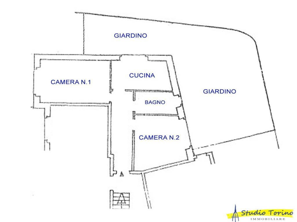 foto Planimetria Trilocale corso Felice Cavallotti, Sanremo
