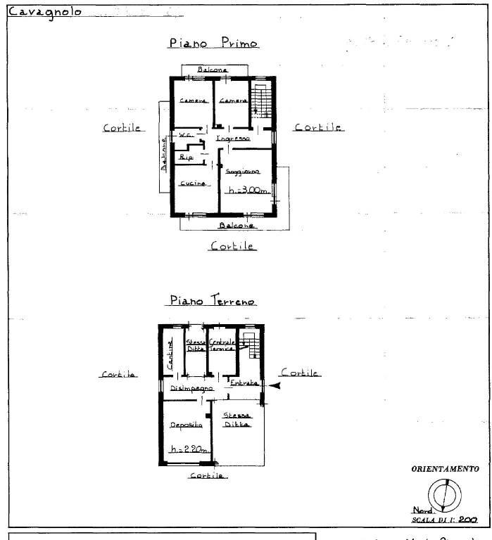 foto Piano primo 4-room flat via Roccabauda 13, Cavagnolo