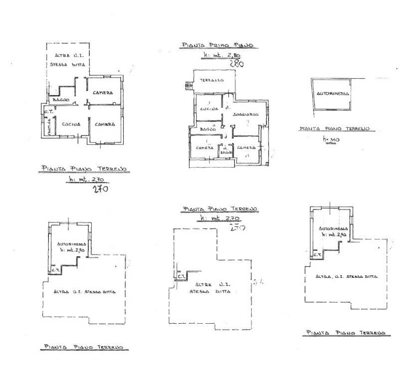 foto Plan Two-family villa Strada del Rossetto, Candia Canavese