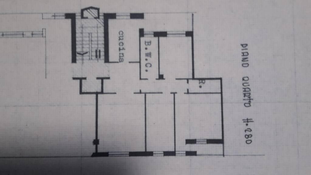 foto planimetria Трехкомнатная квартира viale Trento, Pordenone