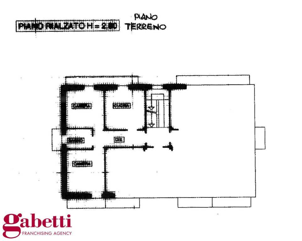 foto PLANIMETRIA 3-room flat Borgata Simane 5, La Morra